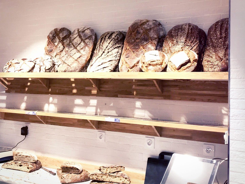 étal pain Olivier Magne Farine & O