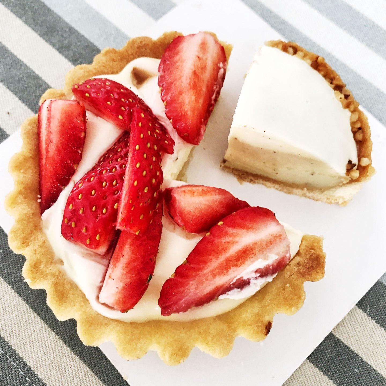 tarte fraises Favre Mot