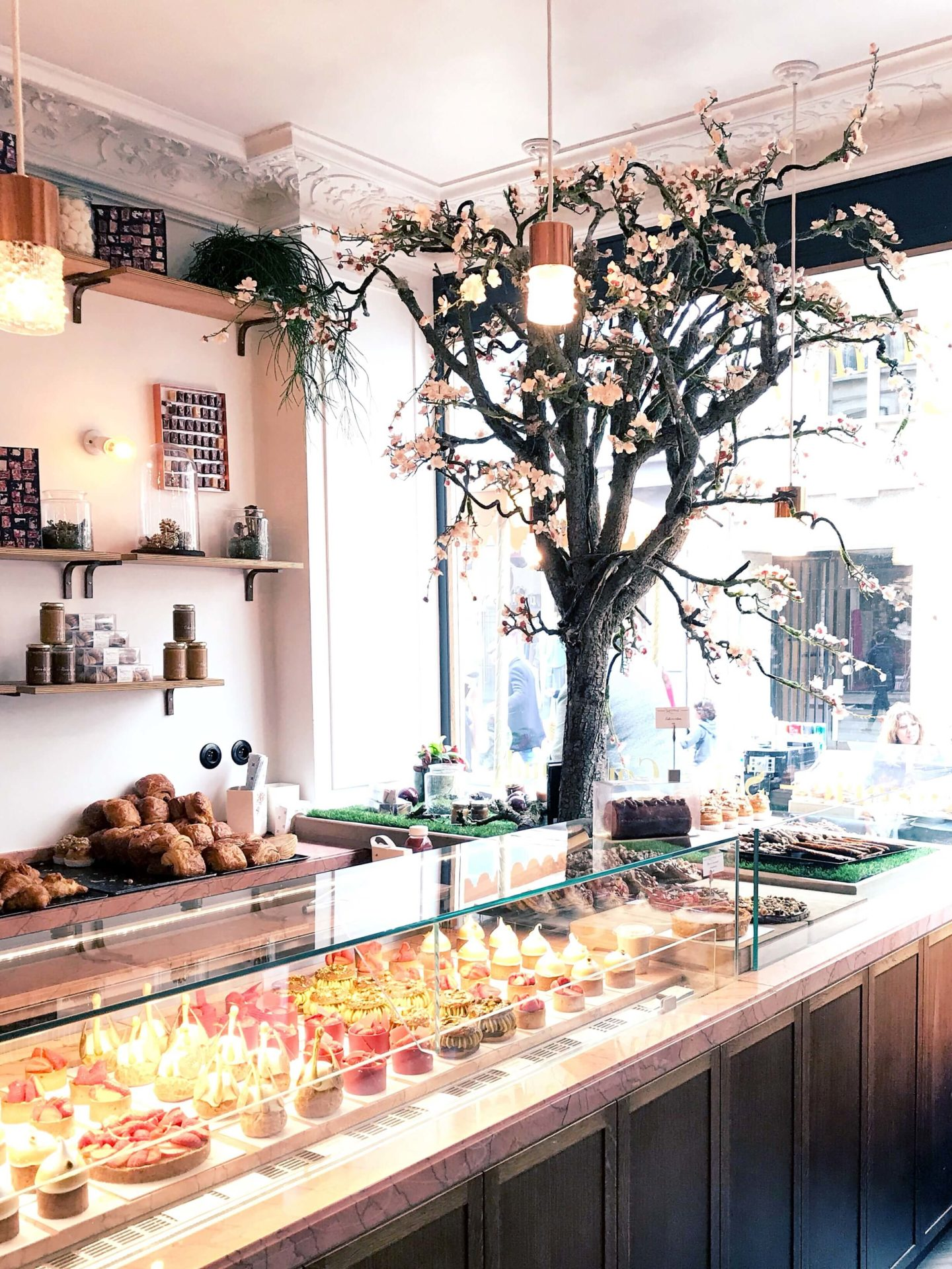 comptoir pâtisserie Karamel