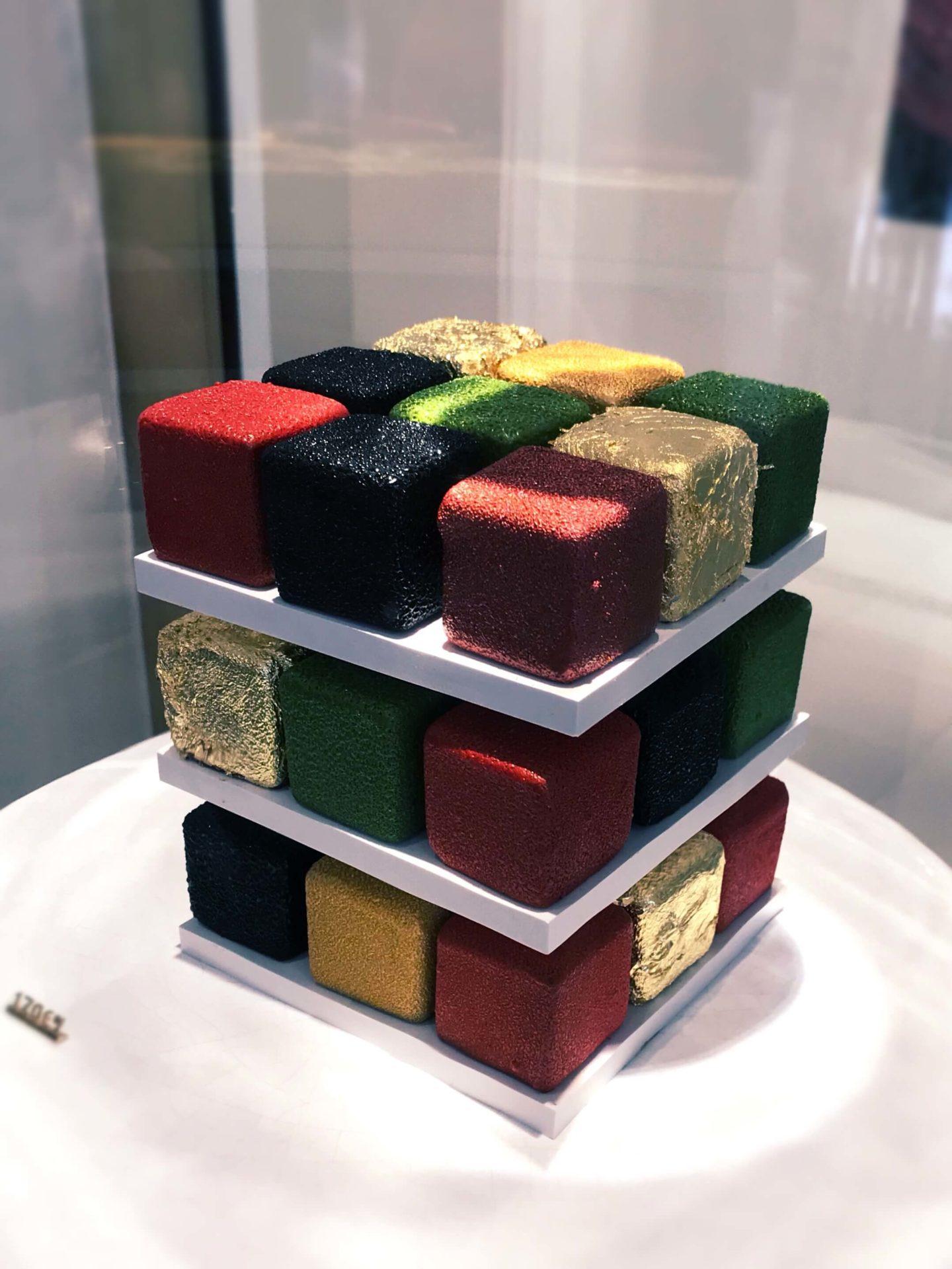 gâteau_Rubik_cube_Cédric_Grolet