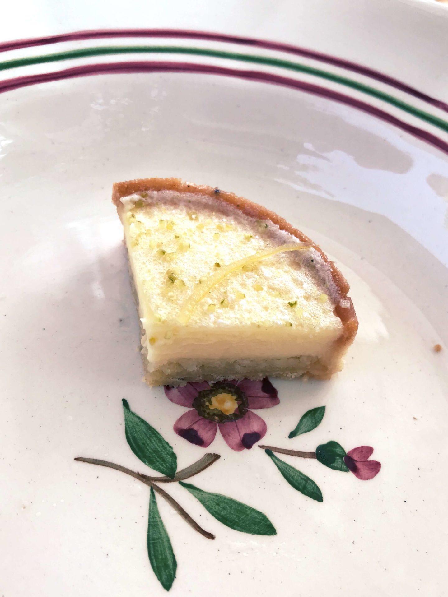 tarte citron pâtisserie Kevin Lacote