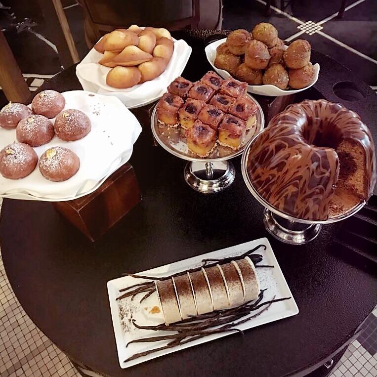 buffet pâtisserie Prince de Galles Nicolas Paciello