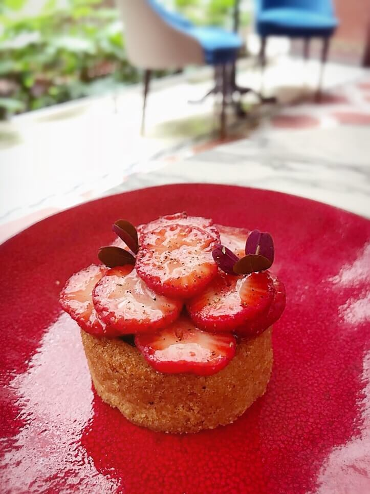 tarte fraises Prince de Galles Nicolas Paciello 4