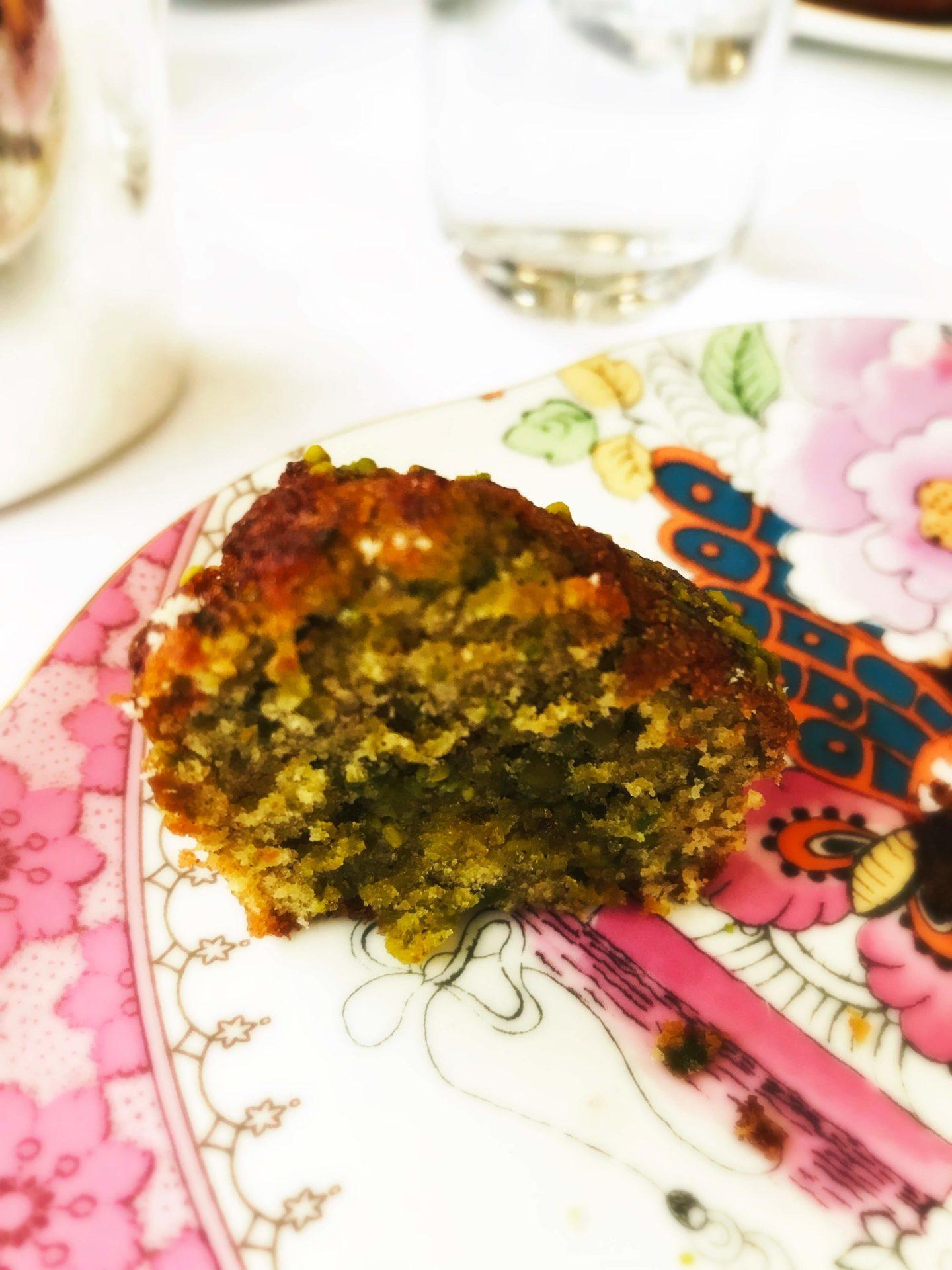 gâteau pistache Prince de Galles Nicolas Paciello