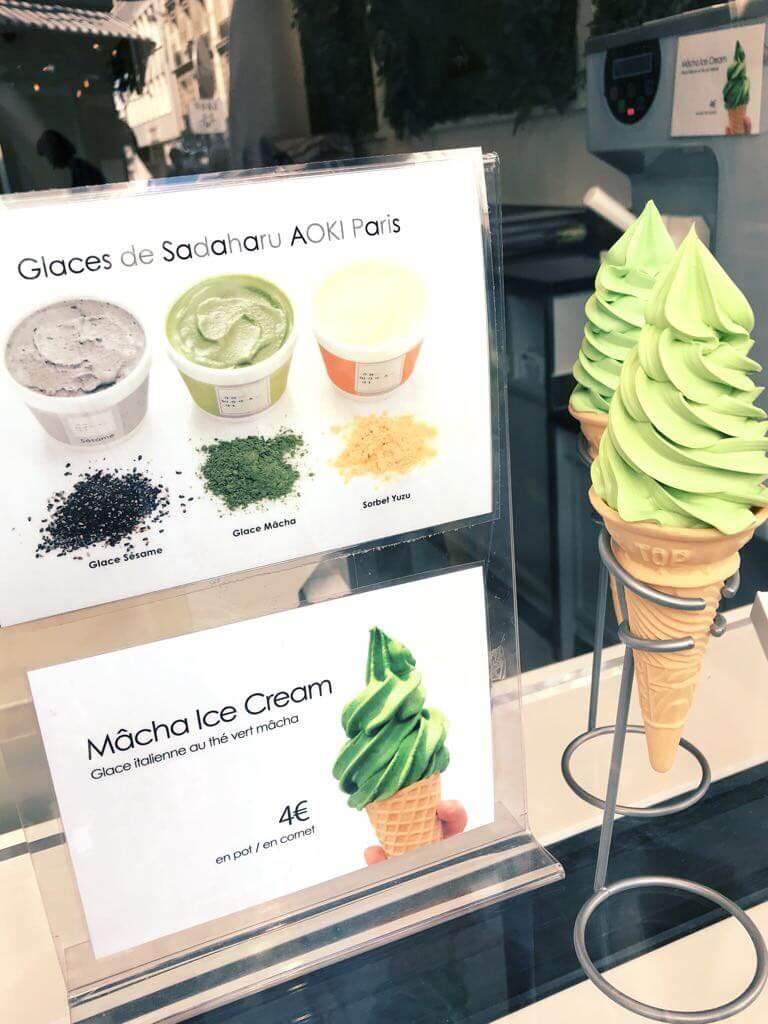 glaces Sadaharu Aoki