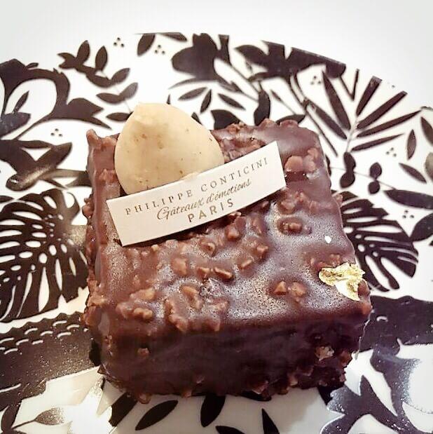 entremet tonka chocolat Philippe Conticini 2